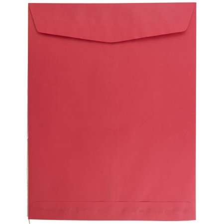 JAM Paper® 10 x 13 Open End Paper Catalog Envelopes with Gum Closure - Christmas Red - 10/pack](Christmas Catalog Request)