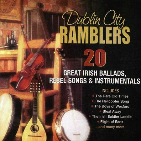20 Great Irish Ballads, Rebel Songs and Instrumentals