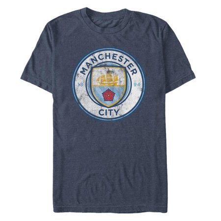 Manchester City FC  - Navy Crest T-Shirt