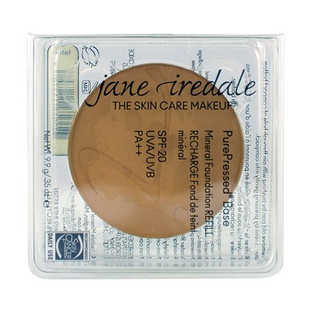 - Jane Iredale PurePressed Base Pressed Mineral Powder Refill SPF 20 - Latte 9.9g/0.35oz