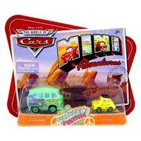 Fillmore's Festival Plastic Car 2-Pack Fillmore & Luigi Disney Cars