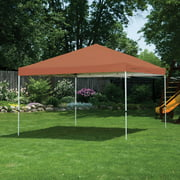 12' x 12' Pro Pop-up Canopy Straight Leg, Terracotta Cover