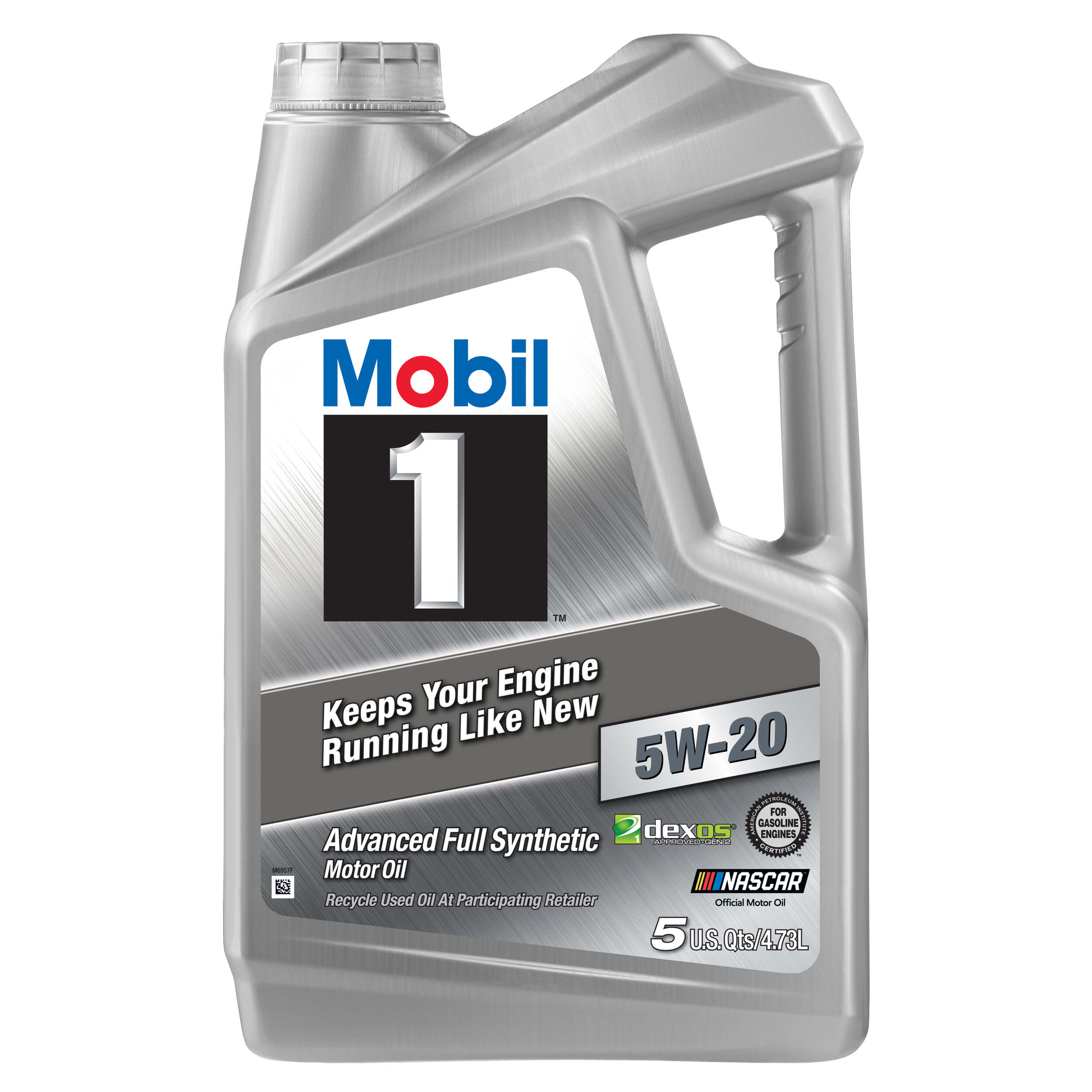 Mobil 1 Advanced Full Synthetic Motor Oil 5W-30, 5 Quart - Walmart