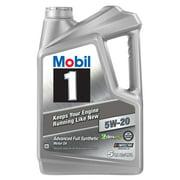 Mobil 1 Advanced Full Synthetic Motor Oil 5W-20, 5 Quart
