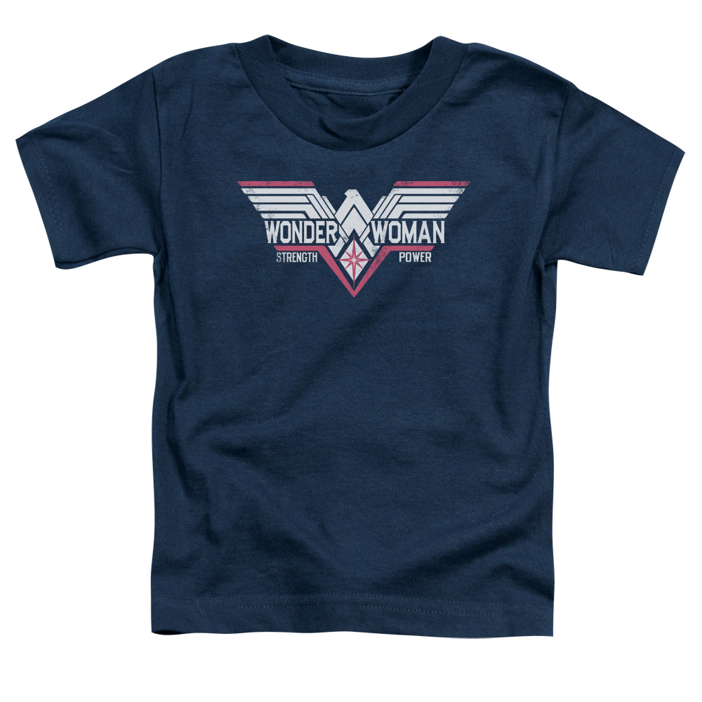 Batman Vs Superman Thunder Logo Little Boys Shirt