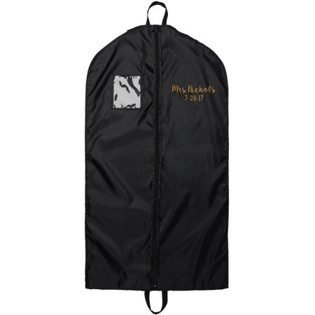 Mrs./Bride Personalized Garment Bag