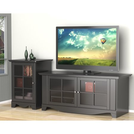 Pinnacle 56-inch TV Stand with an 1-Door Audio Tower
