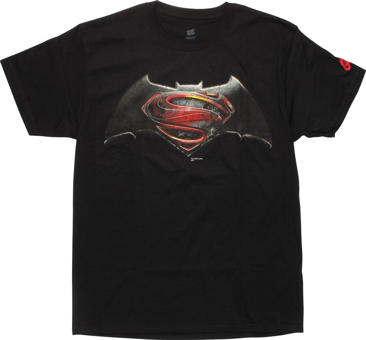 Batman v Superman Movie Logo T-Shirt