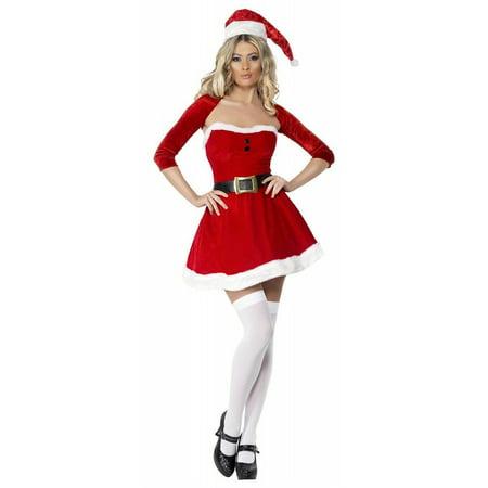 Santa Babe Adult Costume - Large](Female Santa)