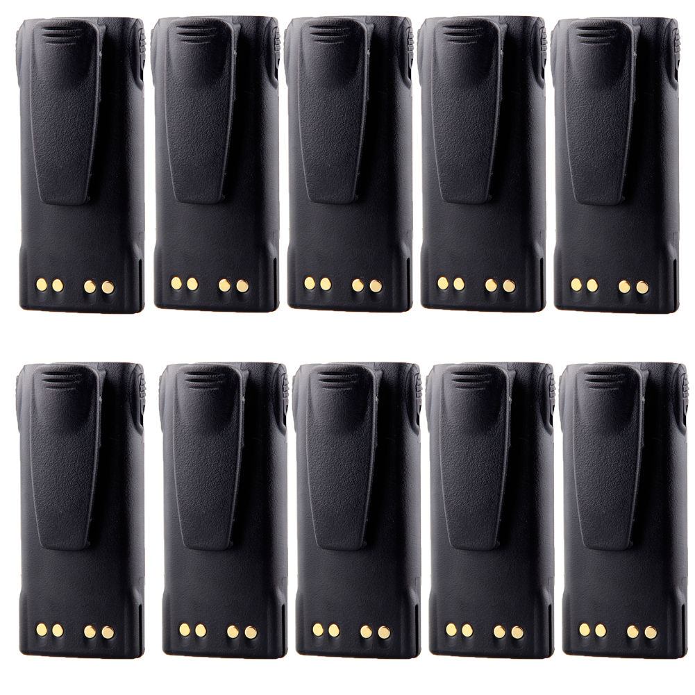 10 x Eleoption HNN9013 Replacement Battery for MOTOROLA 7...
