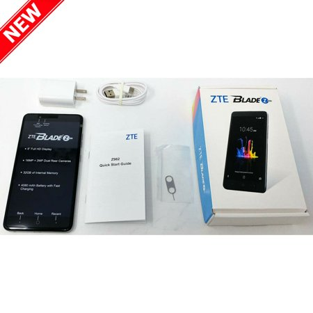 New Blade Z Max 32GB Z982 Factory Unlocked 4G LTE 6