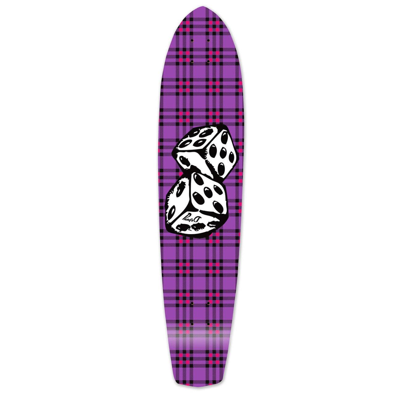 Yocaher Slimkick Longboard Deck Dice by