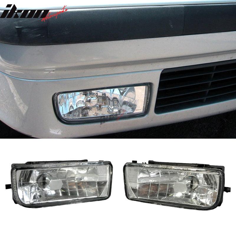 Fits 92-98 E36 318I 325I 328I Clear Lens Bumper Fog Lights Lamps RH&LH Driving