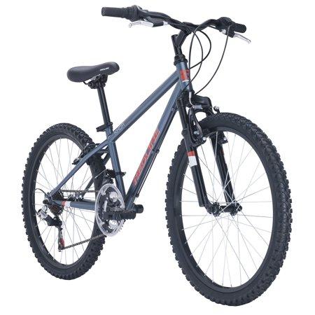"Redline Bikes Khor 24 Kid's Mountain Bike, 24"" Wheels, Grey Only $100.85"