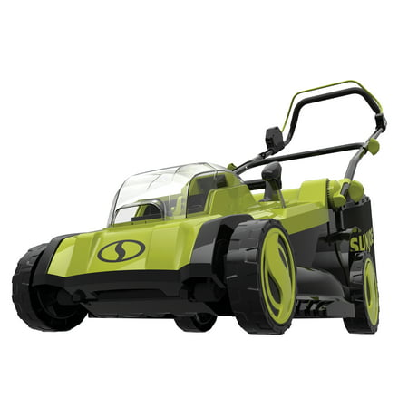 Sun Joe 24V-X2-17LM-CT 48-Volt iON+ Cordless Lawn Mower, 17-inch, 6-Position, Collection Bag (Tool Only)
