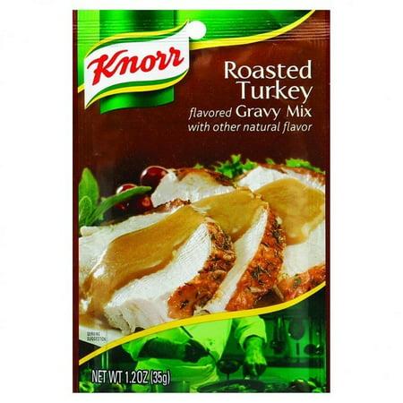 Roasted Turkey Flavor Gravy (Knorr Gravy Mix - Roasted Turkey Flavored - 1.2 Oz - pack of)