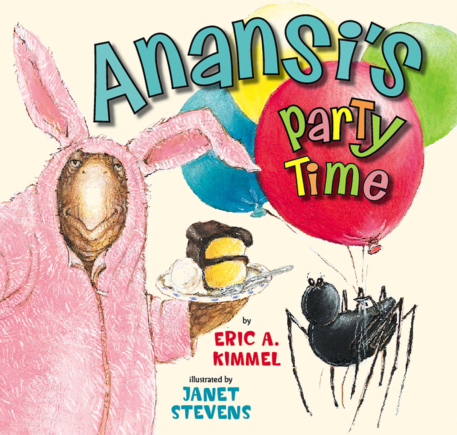 Anansi the Trickster: Anansi's Party Time (Paperback)