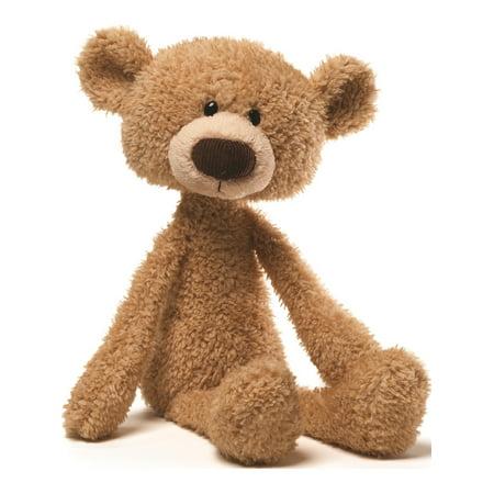 Sweet Bear (Gund 15 Inch Beige Plush Toothpick Bear Designer Jewelry by Sweet Pea)