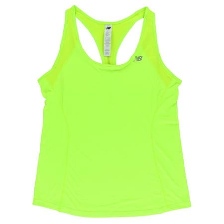 New Balance Womens Ice Tank Top Bright Green