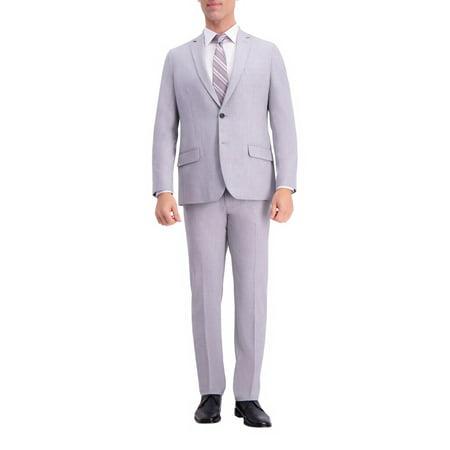 Men's J.M. Haggar Premium Slim-Fit Stretch Suit Coat Light Gray