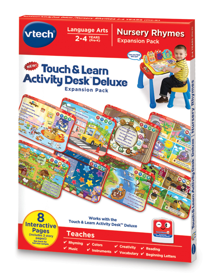 VTech Touch & Learn Activity Desk Deluxe Nursery Rhymes by VTech