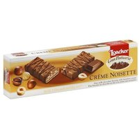 Loacker Gran Pasticceria Creme Noisette Biscuits, 3.53 oz (Pack of 12)