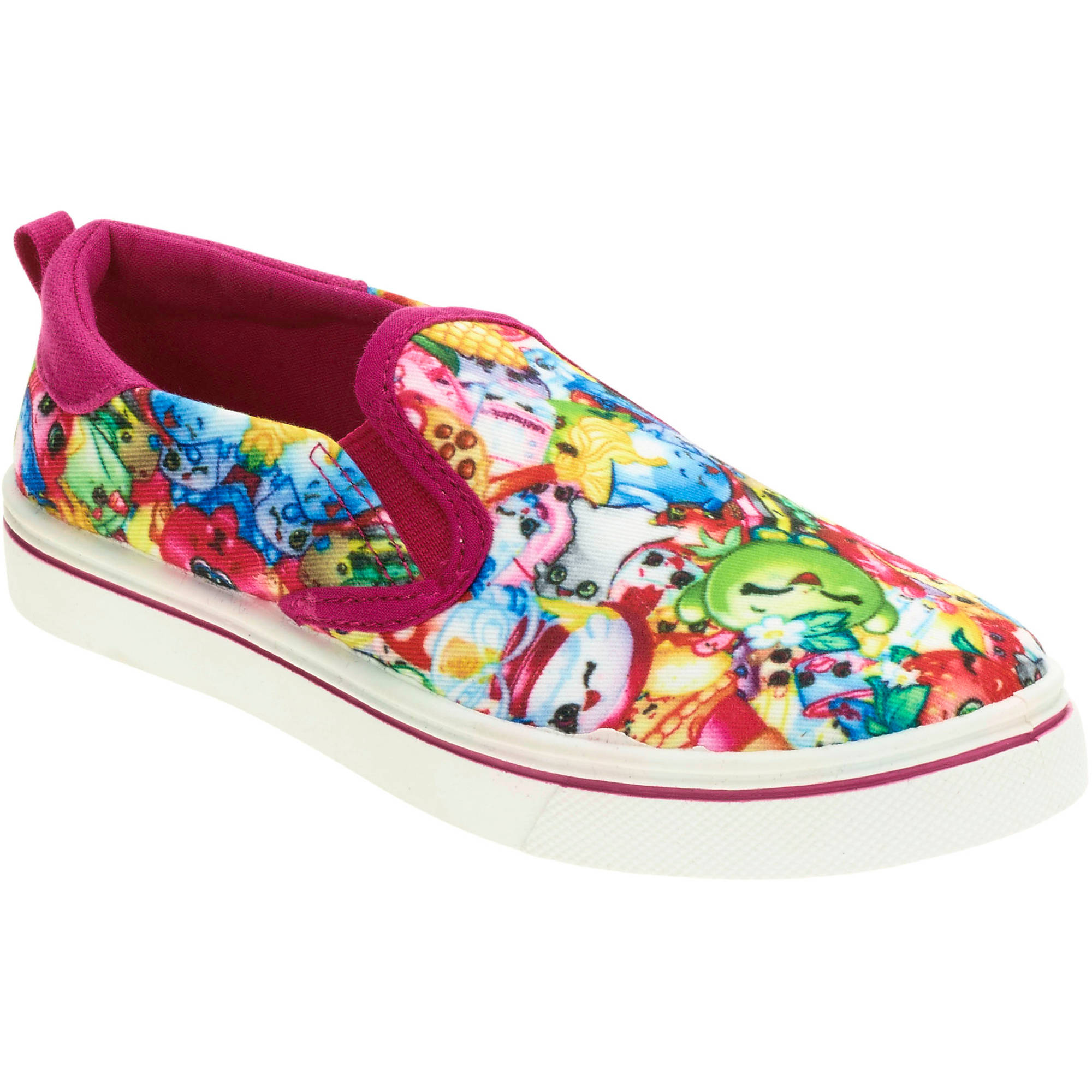 Shopkins Girls' Casual Slip On Shoe