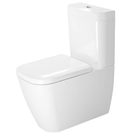 Duravit 2134090092 Dual Flush Two Piece Floor Mounted Close Coupled El