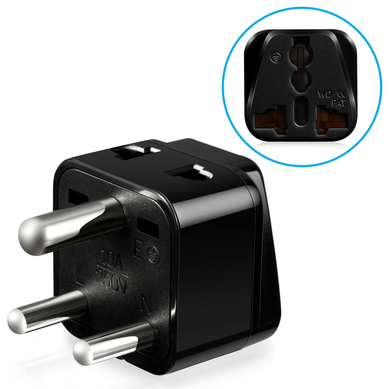 Fosmon Type D Universal Power Adapter - Black