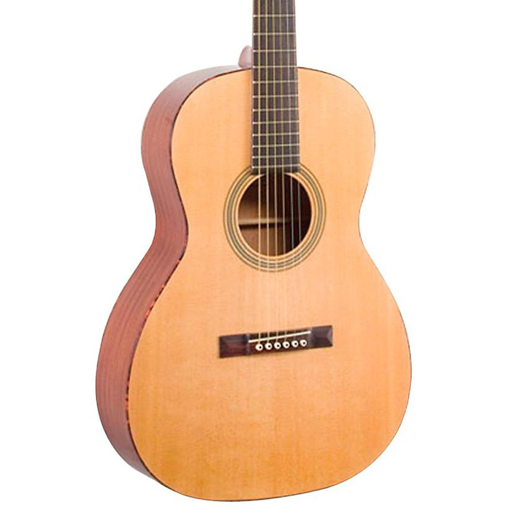 Recording King ROS-06-L Solid Top 12-Fret OOO Left Handed Acousic Guitar, Natural