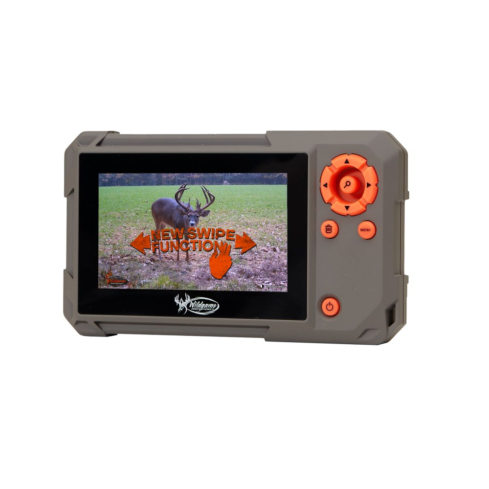 Wildgame Innovations Trail Pad Swipe SD Card Viewer for Game Cameras, Hunting Trail Monitor