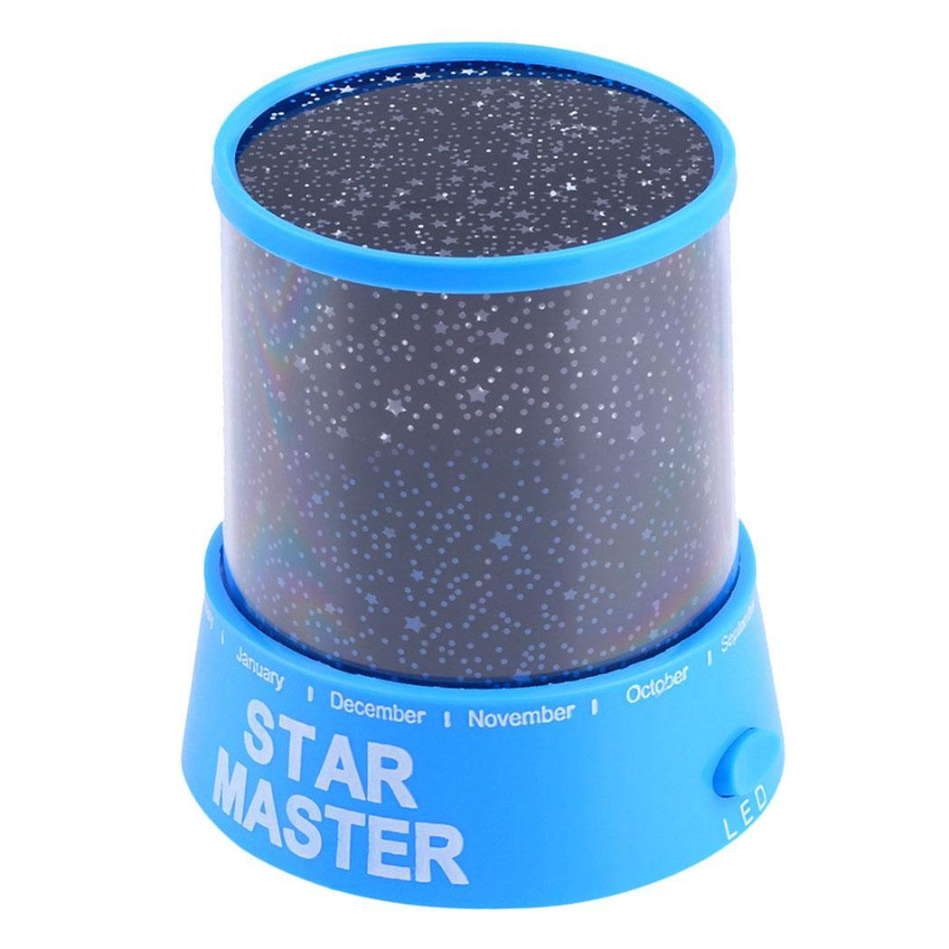 LED Night Light Star Baby Kids Sleep USB Projector Rotation Colorful Light Lamp PESTE