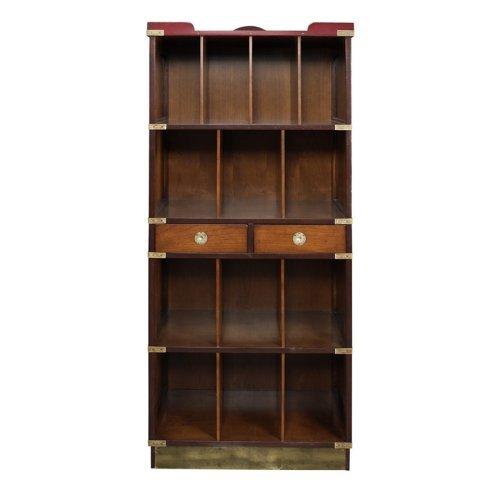 Authentic Models Four Seasons Cabinet Bookcase - Black