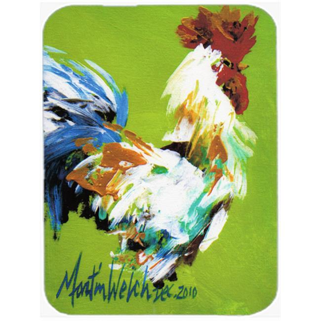 Carolines Treasures MW1188LCB Boss Rooster Glass Cutting Board, Large - image 1 of 1