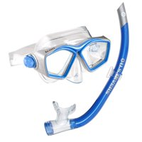 U.S. Divers Easily Adjustable Snorkeling Combo for Adults, One Size Fits Most