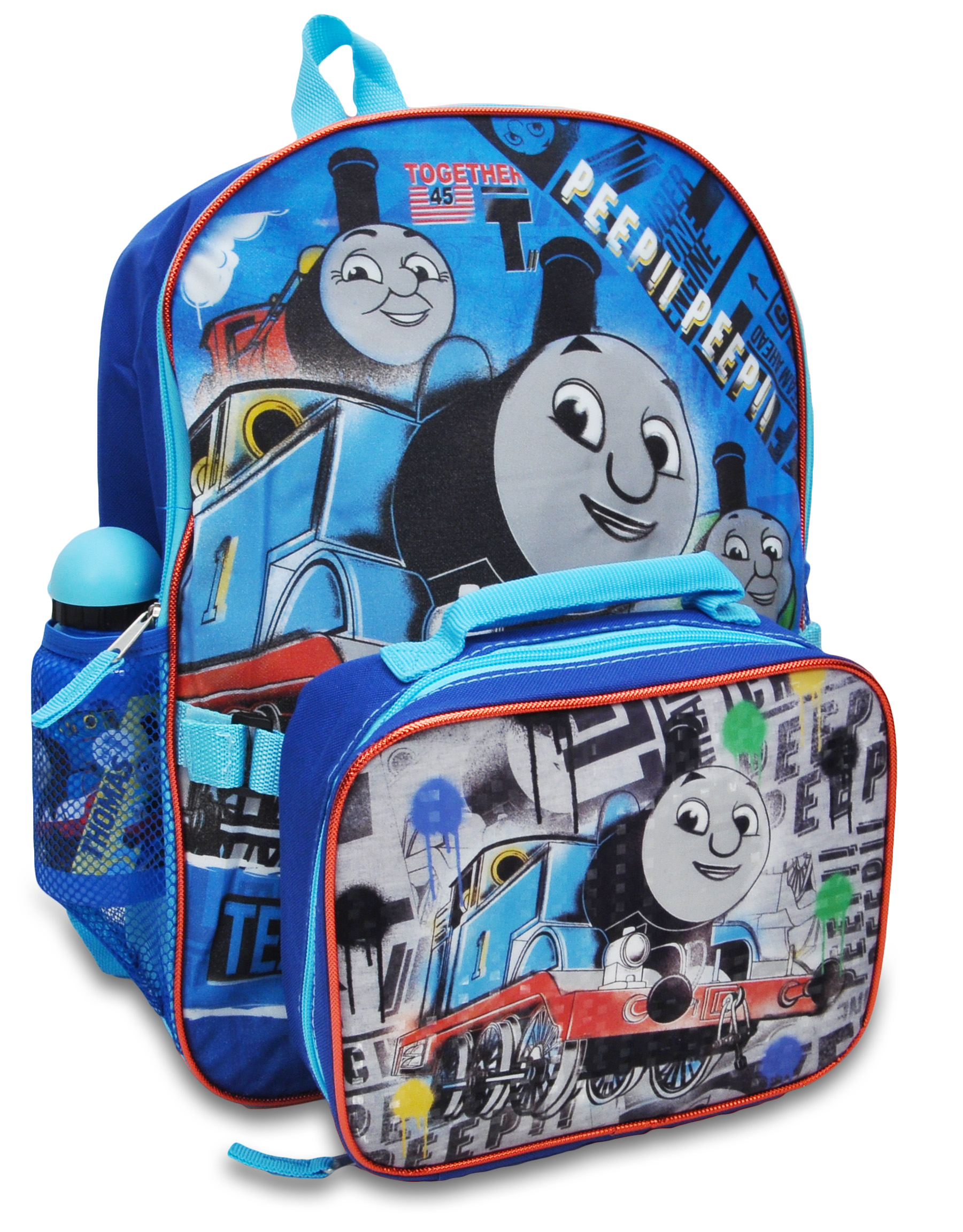 Thomas The Tank Engine Backpack Bag School Nursery Picnic Travel Holidays Light
