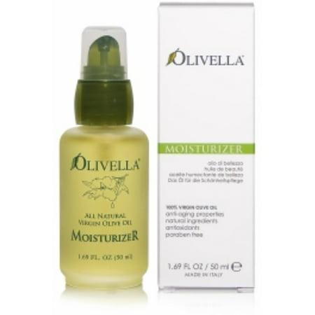 Olivella All Natural Virgin Olive Oil Moisturizer For All Skin Types 1.69