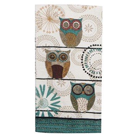 Kayo Designs - Kay Dee Designs R3440 Spice Road Owl Terry Towel