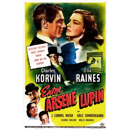 Enter Arsene Lupin Us Poster Top From Left Charles Korvin Ella Raines Bottom Left From Top J Carrol Naish Gale Sondergaard George Dolenz 1944 Movie Poster Masterprint