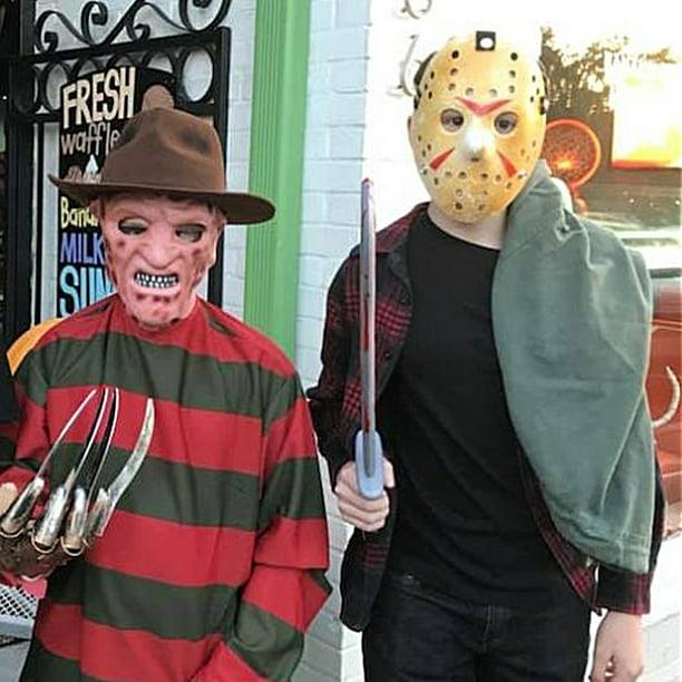 Roll Play Scary Horrific Cosplay Halloween Hockey Mask Mask