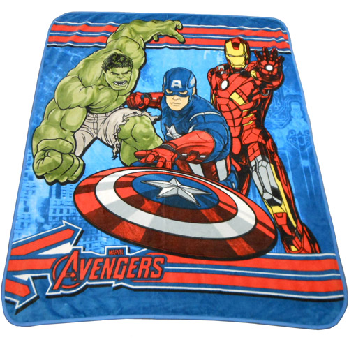 Marvel Avengers Micro Raschel Plush Throw 50 Quot By 60