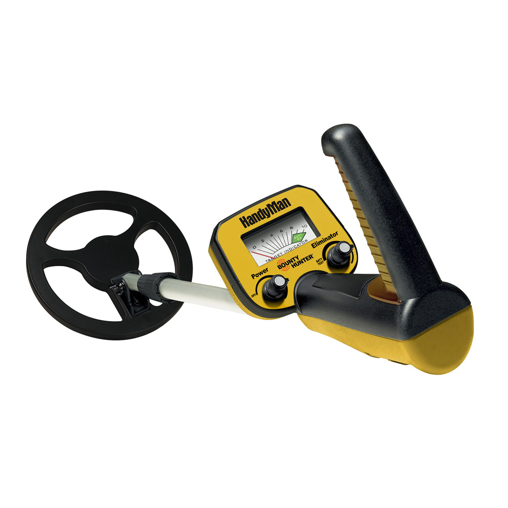 BOUNTY HUNTER HANDY MAN METAL DETECTOR W/ TELESCOPING MAGNET