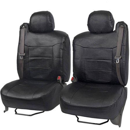 BDK PU Leather Seat Covers for SUV and Pick up Trucks, Built in