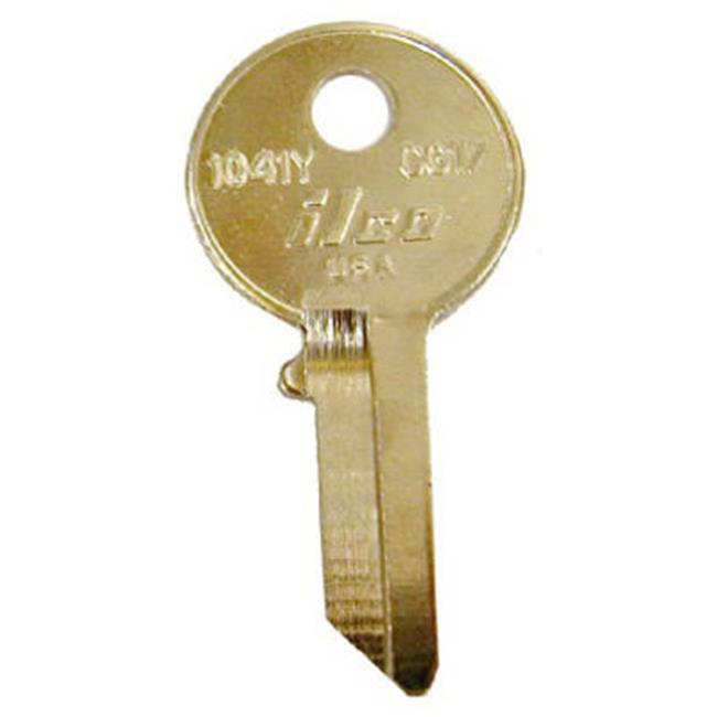 Kaba CG17-1041Y Chicago Lock Key Blank, Pack of 10 - image 1 of 1