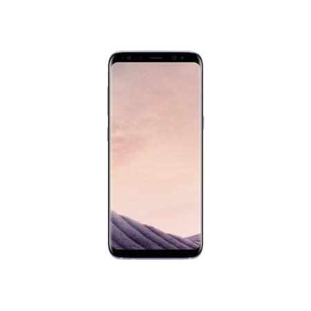 "Samsung Galaxy S8 - SM-G950W - smartphone - 4G LTE - 64 GB - microSDXC slot - TD-SCDMA / UMTS / GSM - 5.8"""" - 2960 x 1440 pixels (570 ppi) - Super AMOLED - RAM 4 GB - 12 MP (8 MP front camera) - Android - orchid gray"