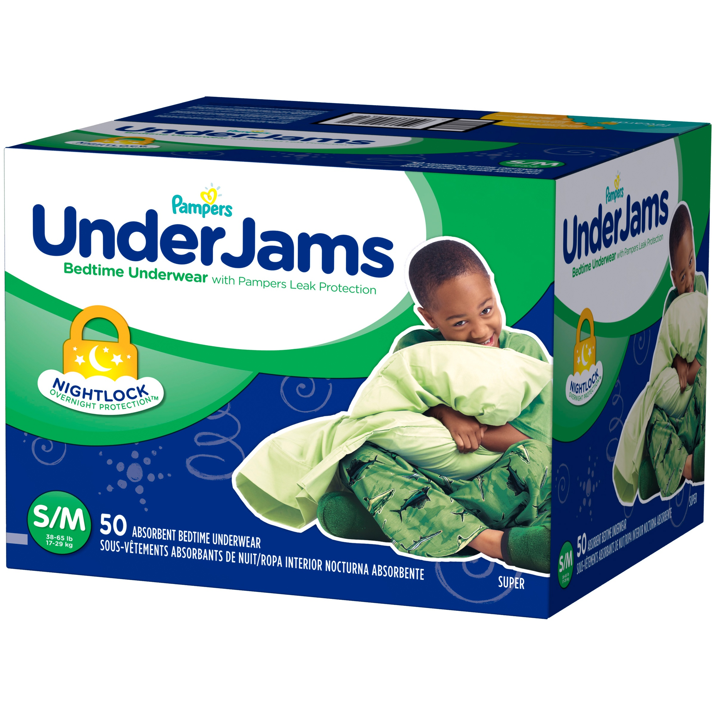 P&ers UnderJams Boysu0027 Bedtime Underwear (Choose Size and Count) - Walmart.com  sc 1 st  Walmart & Pampers UnderJams Boysu0027 Bedtime Underwear (Choose Size and Count ...