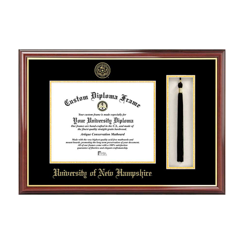 Campus Images University of New Hampshire Tassel Box and Diploma Frame