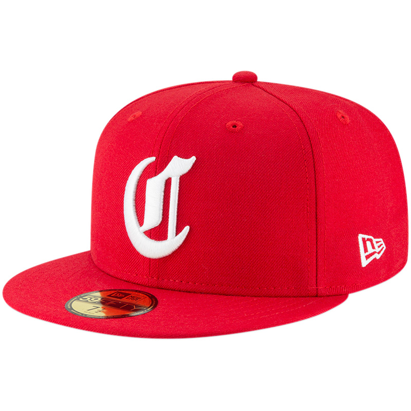 Cincinnati Reds New Era Cooperstown Collection Wool 59FIFTY Fitted Hat - Red