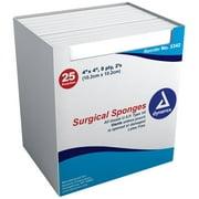 Gauze SPNG ST 4X4 8PLY DYN Size: 25X2