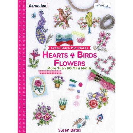 Cross Stitch Mini Motifs: Hearts, Birds, Flowers : More Than 60 Mini Motifs